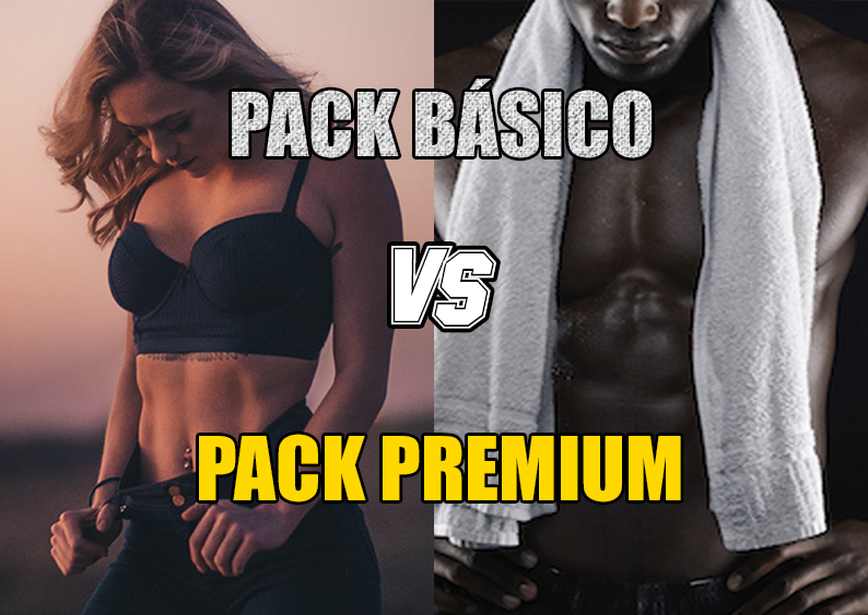 Pack Básico vs Pack Premium Sportmedicine
